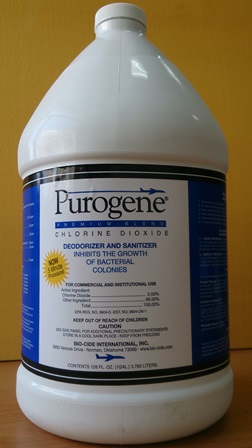 Purogene water sanitizer